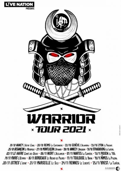 IAM RAP WARRIOR TOUR
