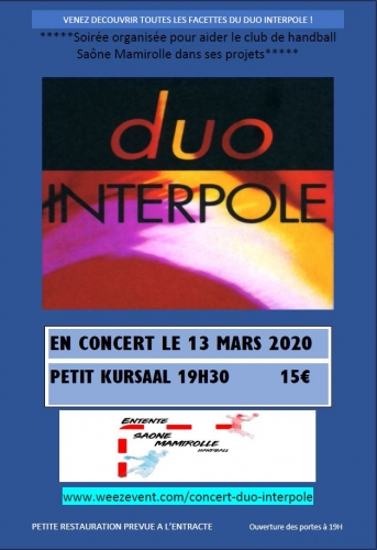 CONCERT DUO INTERPOLE